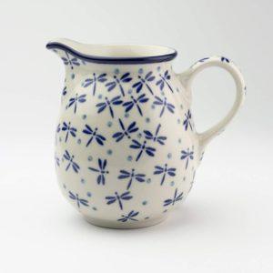 Polish Pottery Large Creamer – Dragonfly