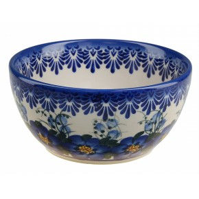 Classic Boleslawiec Pottery Hand Painted Ceramic Bowl Venus 0.4L 14oz (40cl) 071-U-003