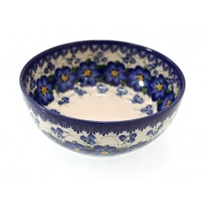 Classic Boleslawiec Pottery Hand Painted Ceramic Bowl 700ml 072-U-003