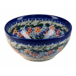 Classic Boleslawiec Pottery Hand Painted Ceramic Bowl 700ml 072-U-008