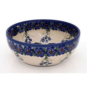 Classic Boleslawiec Pottery Hand Painted Ceramic Bowl 950ml 073-U-001