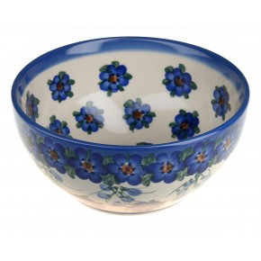 Classic Boleslawiec Pottery Hand Painted Ceramic Bowl 700ml 072-U-001
