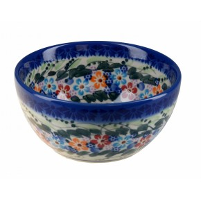 Classic Boleslawiec Pottery Hand Painted Ceramic Bowl Venus 0.4L 14oz (40cl) 071-U-008