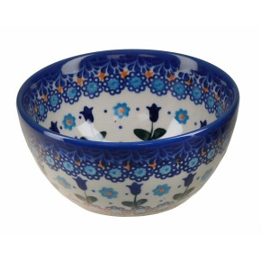 Classic Boleslawiec Pottery Hand Painted Ceramic Bowl Venus 0.4L 14oz (40cl) 071-U-006