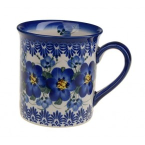 Classic Boleslawiec Pottery Hand Painted Ceramic Mug 300ml 057-U-003